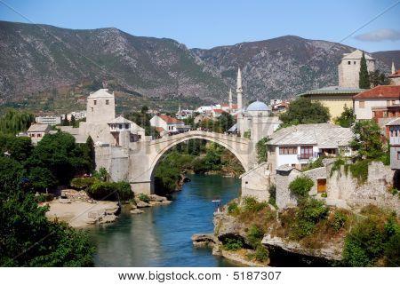 The Old City, Mostar, Bosnia-herzegovina