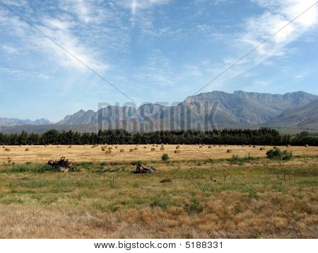 Bales Mountains And Blue Sky