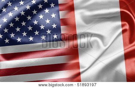 Usa And Peru
