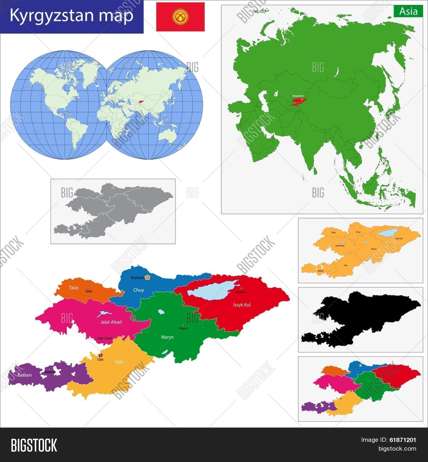 Map Administrative Vector & Photo (Free Trial) | Bigstock