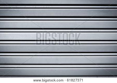 Cool Industrial Metal  Door Background