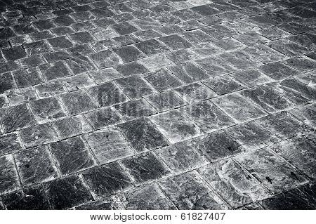 Granite Flagstone Pavement Road