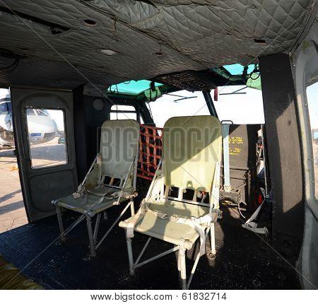 Vietnam War Era Helicopter