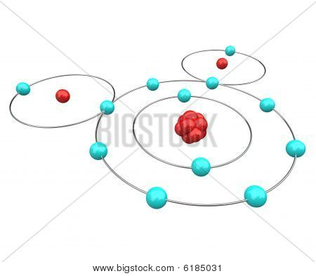Water - H2O Atomic Diagram