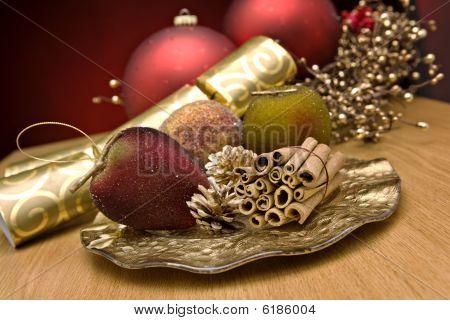 Christmas Cinnamon And Decorations