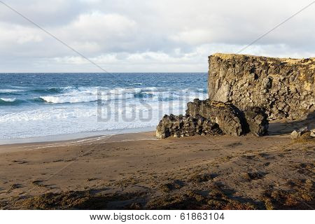 Wild Beach At The Snaefellsnes Peninsula.