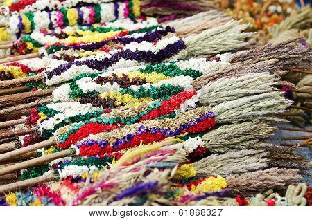 ithuanian palm bouquets