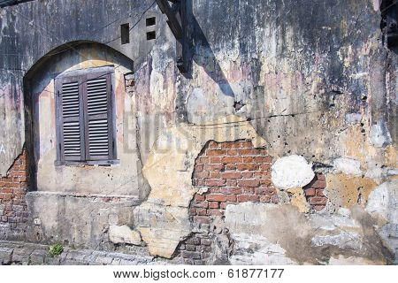 Old Wall, Hoi An