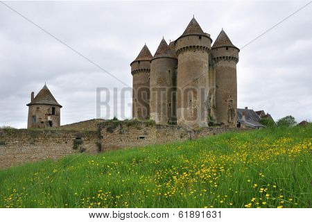 Family owned and restored Chateau Sarzay in Sarzay, France