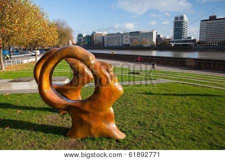 New Public Sculpture On London's Millbank