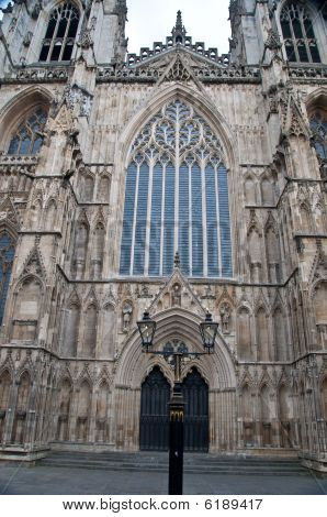 York Minster - Church Front