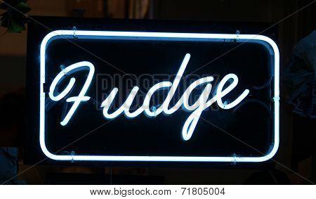 Fudge Sign