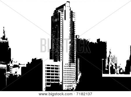 CITY VECTOR GRAPHICS