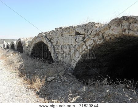 Structural part of the ancient Roman stadium in Perg?.