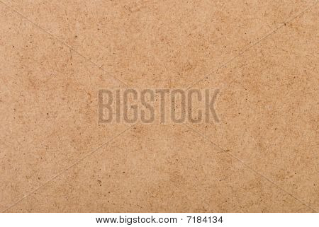 Background From Brown Cardboard