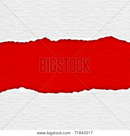 Realistic lacerated paper texture background