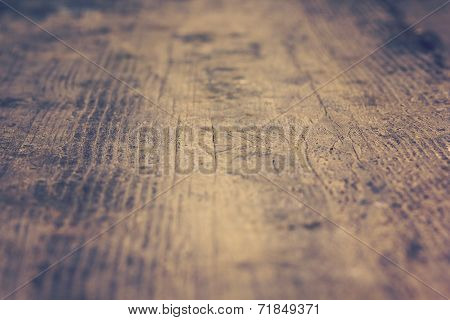 Wood Defocused Background