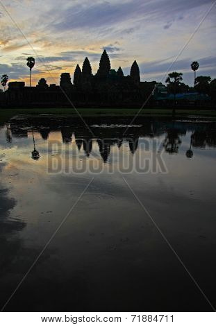 Angkor / Ankor Wat Cambodia at sunset
