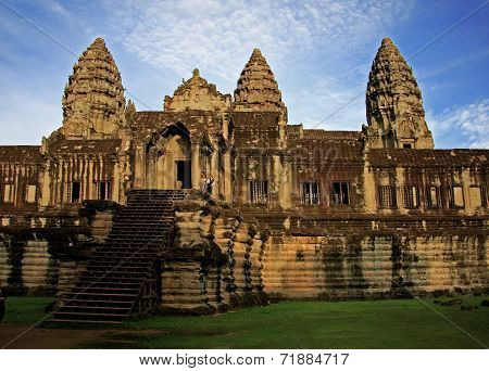 Angkor / Ankor Wat Cambodia in daylight