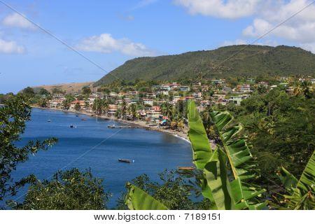 Dominica coastline
