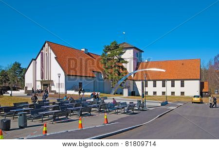Oslo. Norway. The Viking Ship Museum