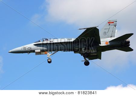 Spanish Air Force F-18 Hornet