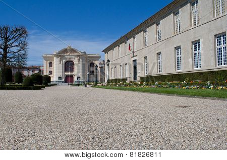 Park Of The Theater Of Castres