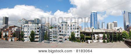 City Along The Pier