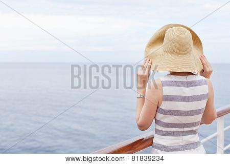 Woman Cruising