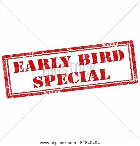 Early Bird Special-stamp