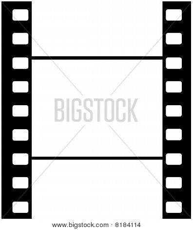 Cine Film Blank Frame