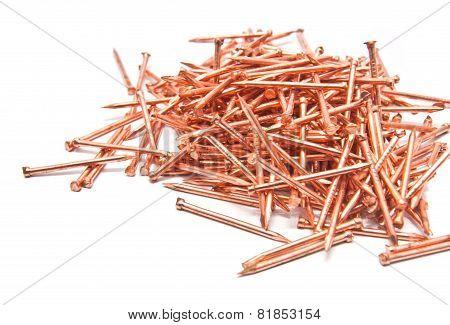 Set Of Bronze Nails