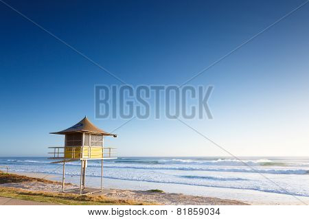 Lifeguard Tower Early Morning