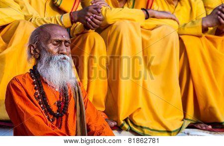 Sadhu in Rishikesh