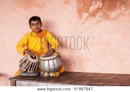 Boy on Tabla