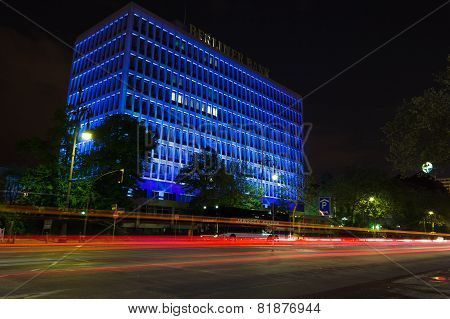 Night Traffic, Berlin