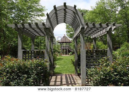 Gazebo Hunterdon County Arboretum