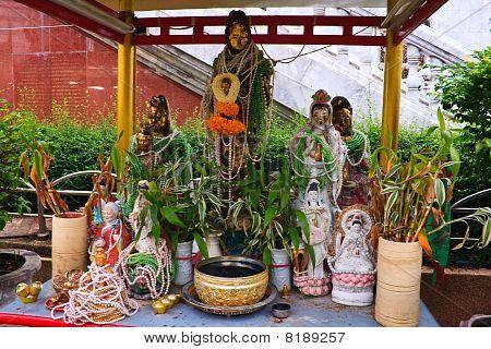 Guan Yin altar table
