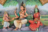 Sri Mahamariamman Temple the oldest and richest Hindu temple in Kuala Lumpur Malaysia poster