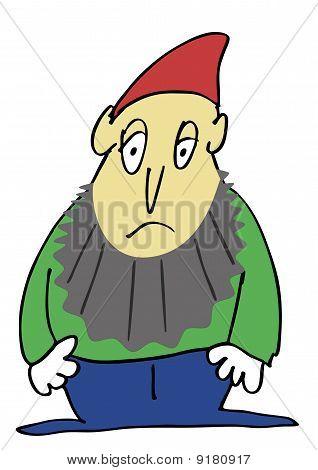 Vector - Sad Gnome