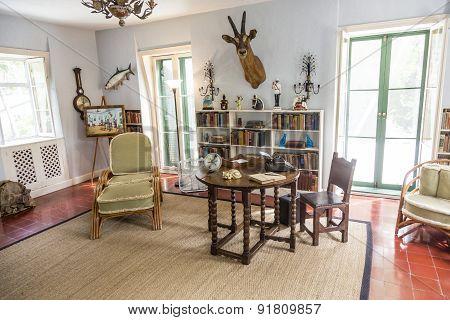 Working Room Of Ernest Hemmingway In Key West