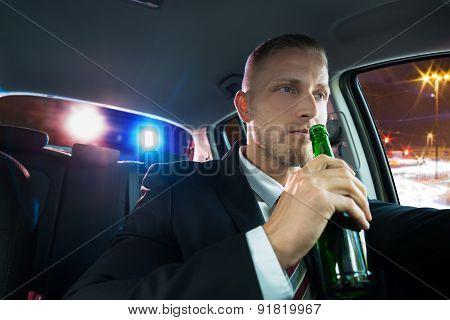 Man Drinking Beer Pulled Over By Police