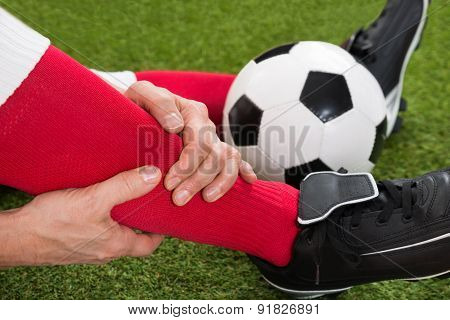 Injured Soccer Player