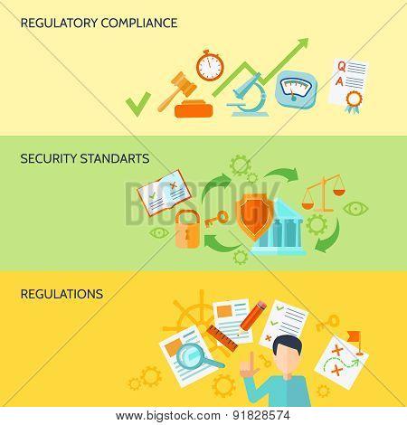 Compliance Banner Set