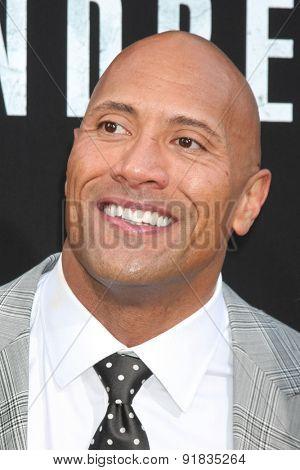 LOS ANGELES - MAY 26:  Dwayne Johnson at the