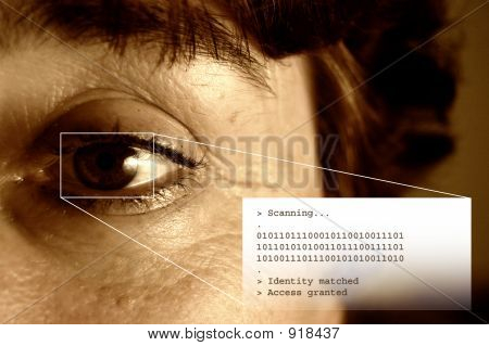 Iris Scan And Text