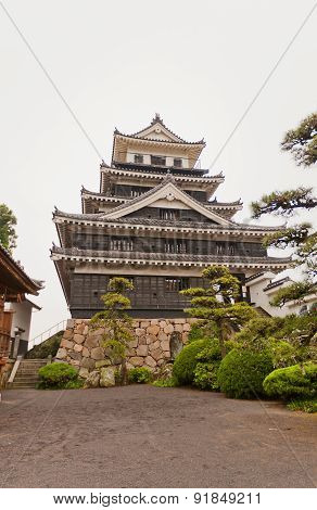 Nakatsu Castle On Kyushu Island, Japan