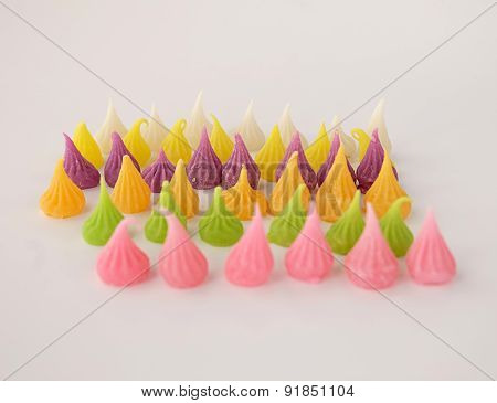A-Lua is a Colorful Thai sweet