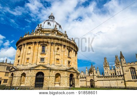 Radcliffe Camera, The Library Of Oxford Univesity - England