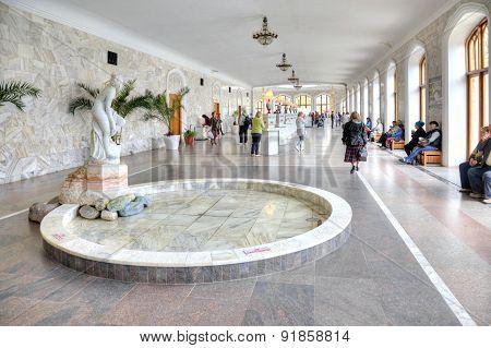 Kislovodsk. Narzan Gallery